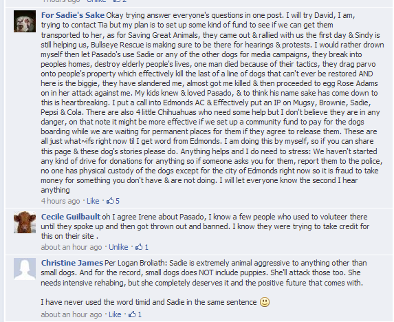 UPDATE Today May 29th, 2013 was the Bond For Sadie's Sake 2013-05-30 17-28-16