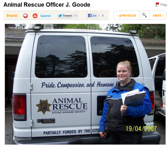 Comments on the picture titled Animal Rescue Officer J Goode 2013-07-25 01-01-00
